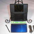 Nintendo DS Lite Colbalt (blue w/ black trim)