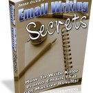 Email Writing Secrets- with resell rights