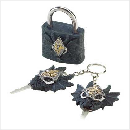 Dragon Lock And Keys
