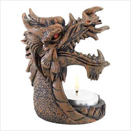 Dragon Fire Tealight Holder