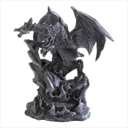 Double Dragon Figurine