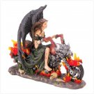 Gothic Angel Biker