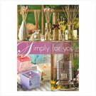 """""""Simply for you"""" Home Party Invite - 20 Pk Plus Catalogs and Pricelist"""