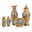 Asian Palace Vase Ensemble
