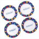 Celebrate! Dessert Plates, Set of 4