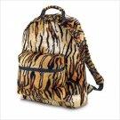 Tiger Print Plush Backpack