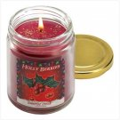 Holly Berries Scent Candle