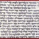 Kosher parchment  Klaf 10*10 cm  size Mezuzah , scroll