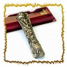 """New 6 """" Metal Mezuzah judaica Israel Torah Doorpost"""