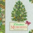 Christmas Memories Photograph Album (1997, Hardcover)