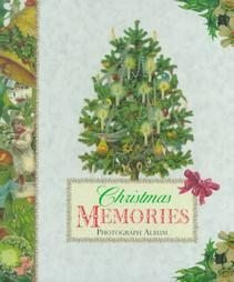 Christmas Memories Photograph Album (1997, Hardcover)