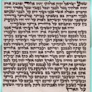 15 cm H.Quality Kosher Mezuzah Scroll Parchment Klaf
