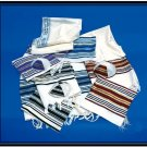 NEW JEWISH NOY TALLIT PRAYER SHAWL S=55  JUDAICA ISRAEL