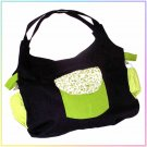 STUNNING Hand Made Baby Diaper/Bottle/Nappy bag NEW E