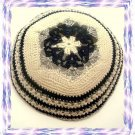 3 LOT MAGEN DAVID Knitted Kippa Yarmulka  Kipa Yarmulke