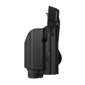 Black Tactical holster for tactical light/laser level II for SIG Sauer P250 FS