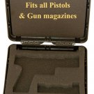 IMI PISTOL Handgun Case for BERETTA and magazine. BERETTA 92, 96, M9, FS, Px4