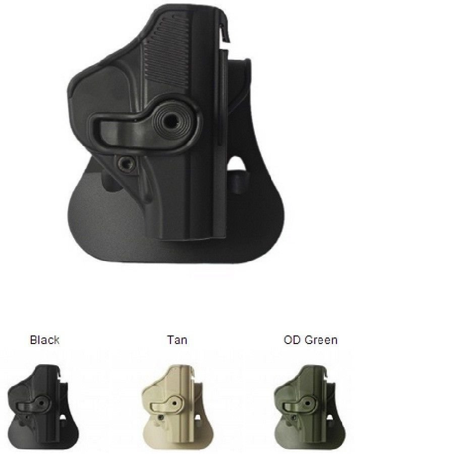 IMI OD Green Polymer Holster for Makarov PM use by IDF