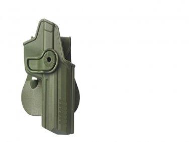 IMI OD green Polymer Retention Roto Holster for Heckler & Koch 45/45c (M1220)