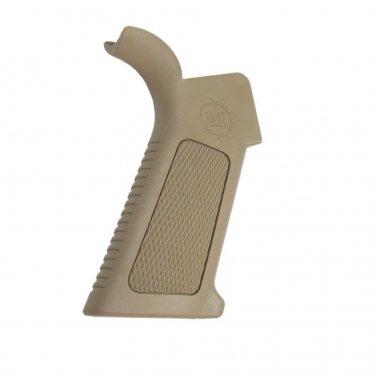 IMI  DESERT TAN  M Overmolded Pistol is an optimized ergonomic pistol grip