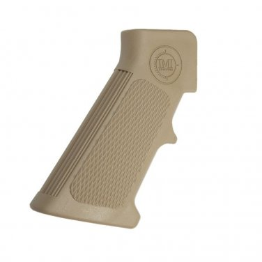 IMI  DESERT TAN  A2 Pistol Grip is an optimized ergonomic pistol grip