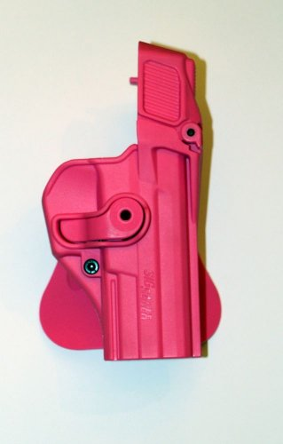 IMI woman Pink Sig Sauer 226 Level-3 Retention Gun Holster used by the IDF