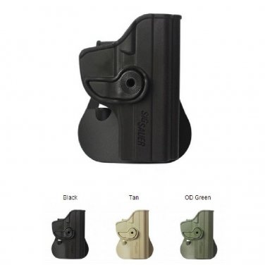 IMI Desert Tan Polymer Retention Roto Holster for Sig Sauer 239 (9mm/.40/.357)