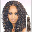 Human Hair Deep Bulk Braid 14""