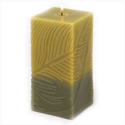 Foliole Square Pillar Candle