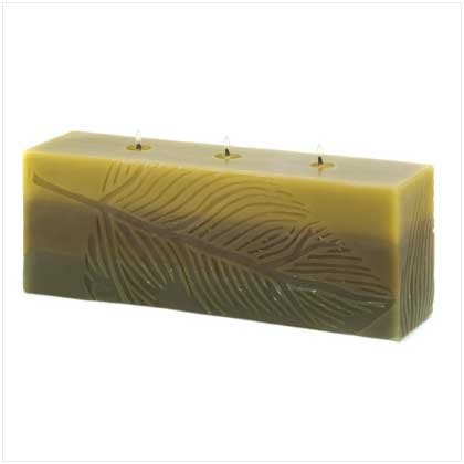 Foliole Brick Candle