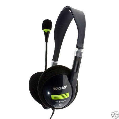 Voiceao Behind-the-Neck Stereo Headset with Microphone