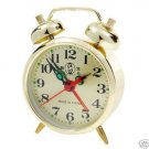 Collector's Gold Plated Alarm Clock Manual Operation