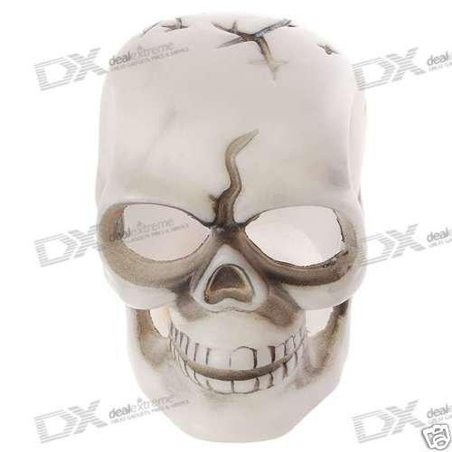 Halloween RGB LED Glowing Death Skull