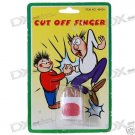 10x(2-Pack)  Practical Joke Cut Finger Tip with blood