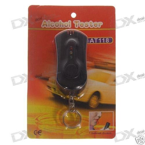 Alcohol Tester Breathalyzer Keychain