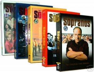 New The Sopranos Complete Seasons 1 2 3 4 5 DVD Box Sets