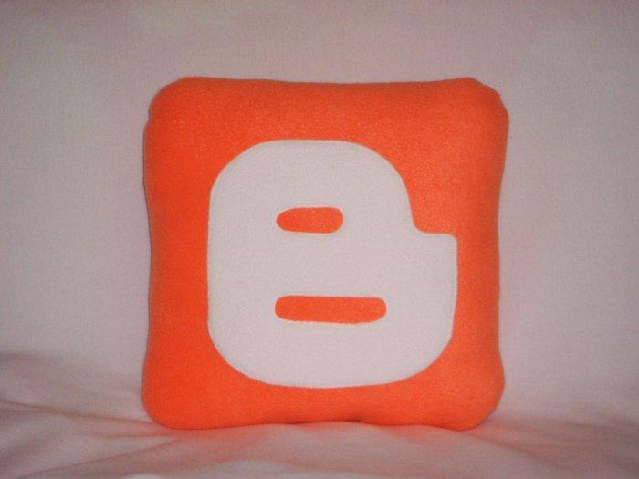 Blogger Icon Pillow