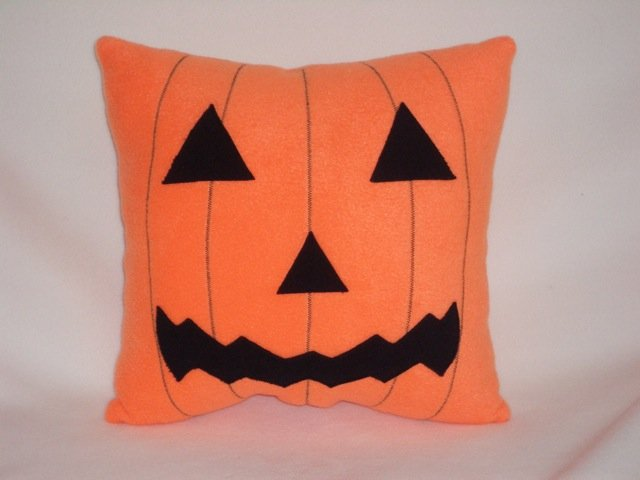 Halloween Pumpkin Pillow