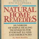 Rodales encyclopedia of  Natural Home Remedies hardcover ISBN 0878573968