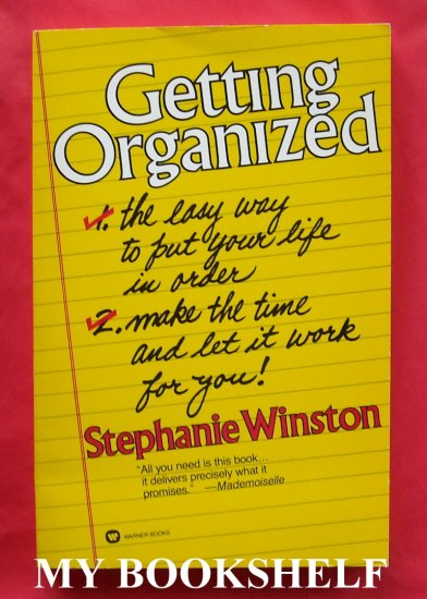 Getting organized softcover