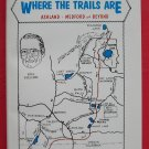 Where the trails are softcover