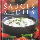 The book of sauces and dips hardcover ISBN 1405455985