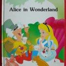 Walt Disney Alice In Wonderland hardcover
