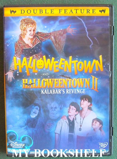 halloweentown and halloweentown 2 kalabars revenge double feature dvd upc 786936293548