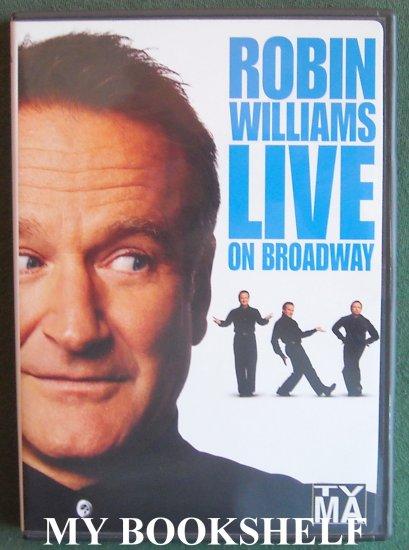 Robin Williams Live on Broadway DVD UPC 074645517797