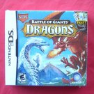 Battle of Giants Dragons FREE Starter deck Nintendo DS Game