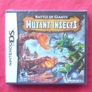 Battle of Giants Mutant Insects Nintendo DS Game