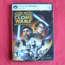 Star Wars Clone Wars Republic Heroes PC DVD game for Windows NIB