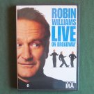Robin Williams Live on Broadway DVD UPC 074645517797
