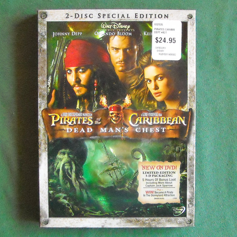 Disney Doppelgangers Pirates Edition: Walt Disney Pirates Of The Caribbean Dead Mans Chest DVD